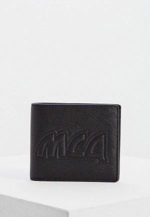 Кошелек McQ Alexander McQueen. Цвет: черный