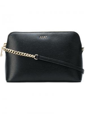 Mini crossbody bag DKNY. Цвет: черный