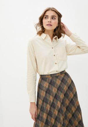 Рубашка Zolla. Цвет: бежевый