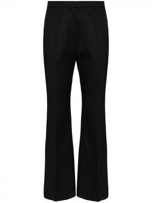 Расклешенные брюки Summer LVIR. Цвет: черный