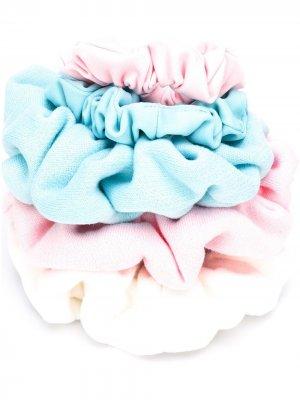 Набор резинок для волос Styland. Цвет: синий