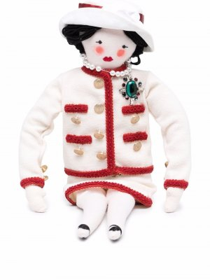 Коллекционная кукла Coco Chanel Pre-Owned. Цвет: нейтральные цвета