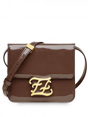 Karligraphy shoulder bag Fendi. Цвет: коричневый