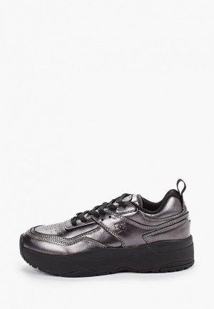 Кроссовки DC Shoes. Цвет: серебряный