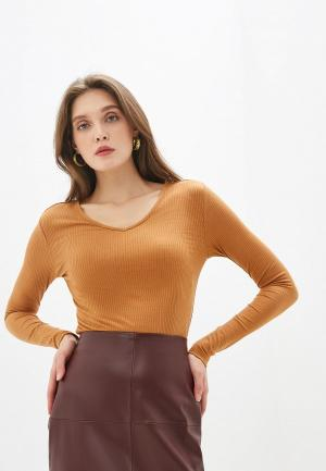Пуловер Noisy May. Цвет: коричневый