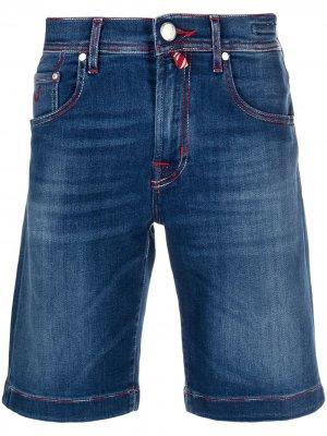Джинсовые шорты Jacob Cohen. Цвет: синий