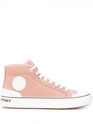 Высокие кроссовки Stella McCartney. Цвет: розовый