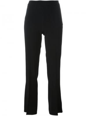Расклешенные брюки Giambattista Valli. Цвет: черный