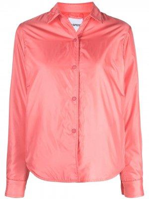 Легкая куртка-рубашка Aspesi. Цвет: розовый