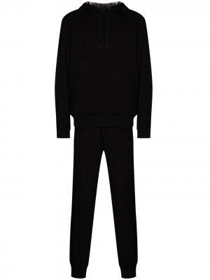 Спортивный костюм из джерси Fendi. Цвет: черный