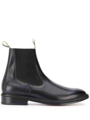 Ботинки челси LANVIN. Цвет: черный