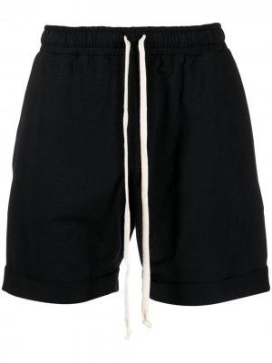 Спортивные шорты с кулиской Alchemy. Цвет: черный