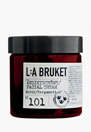 Крем для лица La Bruket. Цвет: прозрачный