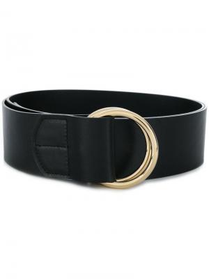 Double ring belt Rochas. Цвет: черный