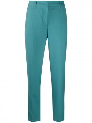 Зауженные брюки кроя слим PAUL SMITH. Цвет: синий