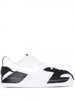 Кроссовки NDestrukt Air Force 1 Nike. Цвет: белый