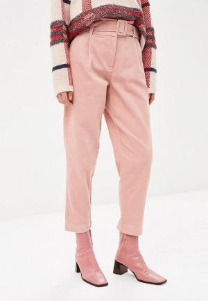 Брюки Vero Moda. Цвет: розовый