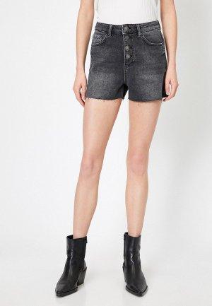 Шорты джинсовые Koton. Цвет: серый