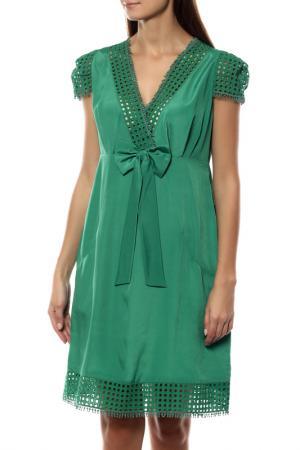 Платье 22MAGGIO. Цвет: зеленый