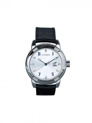 Наручные часы IO Power Reserve 42 мм Jorg Hysek. Цвет: серебристый