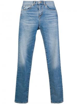 Classic skinny-fit jeans Fiorucci. Цвет: синий