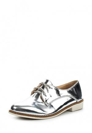 Ботинки PTPT. Цвет: серебряный