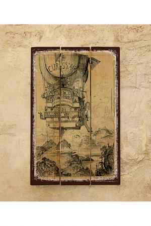 Деревянная табличка Декоративная жесть. Цвет: мульти
