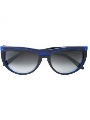 Солнцезащитные очки Tuitti Oliver Goldsmith. Цвет: черный