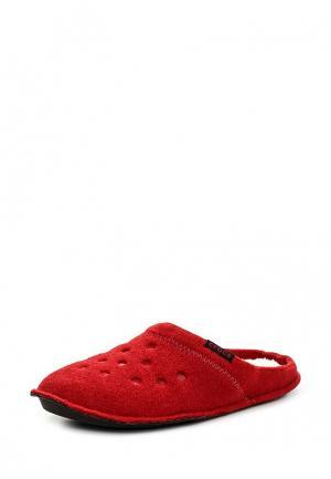 Тапочки Crocs. Цвет: красный