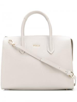 Pin satchel Furla. Цвет: белый