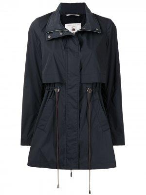 Многослойное пальто Colombo. Цвет: синий