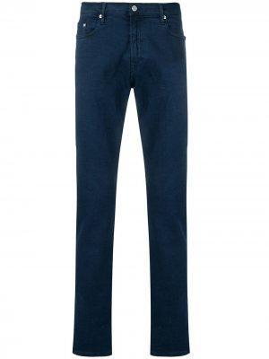 Классические брюки чинос PS Paul Smith. Цвет: синий