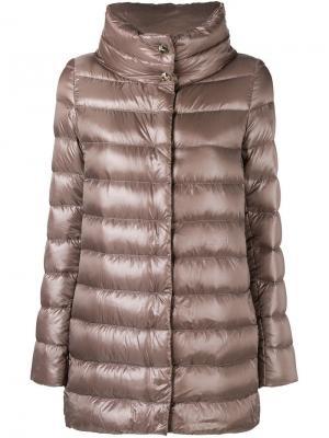 Padded coat Herno. Цвет: нейтральные цвета