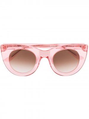 Солнцезащитные очки Glamy в оправе кошачий глаз Thierry Lasry. Цвет: розовый