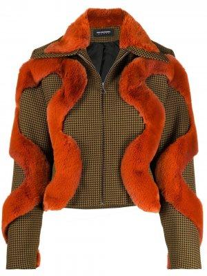 Куртка-бомбер Kiko Kostadinov. Цвет: зеленый