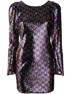 Платье мини с пайетками Aniye By. Цвет: розовый