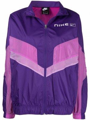 Ветровка NSW Nike. Цвет: фиолетовый