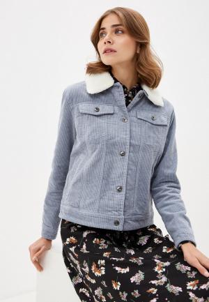 Куртка Zolla. Цвет: голубой