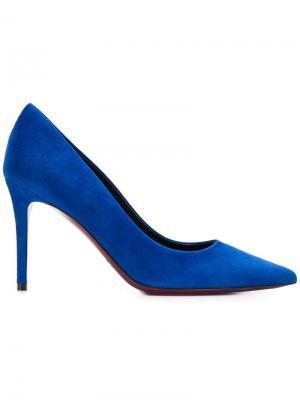 Suede pumps Deimille. Цвет: синий
