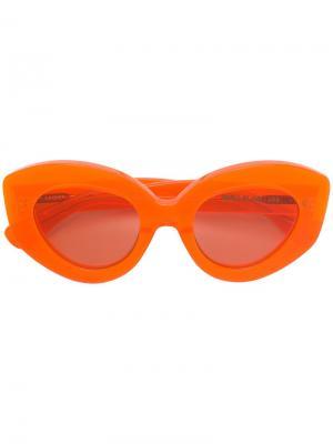 Looper sunglasses House Of Holland. Цвет: желтый