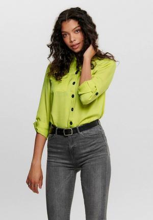 Блуза Only. Цвет: желтый