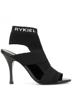 Ботильоны-носки Sonia Rykiel. Цвет: черный
