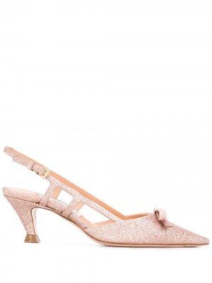 Туфли Alberta с ремешком на пятке Roberto Festa. Цвет: розовый