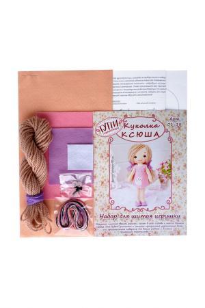 Набор для шитья Куколка Ксюша СТУДИЯ ДЕКОРА ТУТТИ. Цвет: розовый