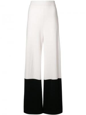 Трикотажные брюки Explorer Temperley London. Цвет: белый