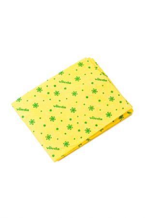 Тряпка для мытья пола VILEDA. Цвет: желтый
