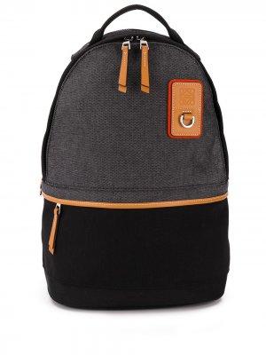 Рюкзак со вставками LOEWE. Цвет: черный