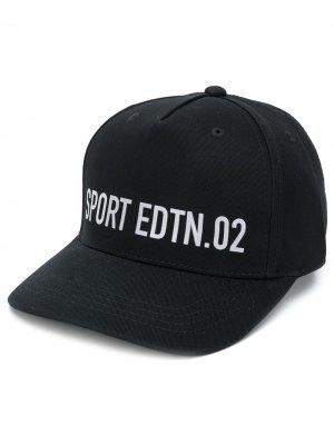 Бейсболка SPORT EDTN.02 Dsquared2 Kids. Цвет: черный