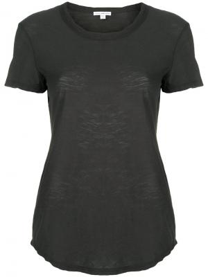 Shortsleeved T-shirt James Perse. Цвет: зеленый