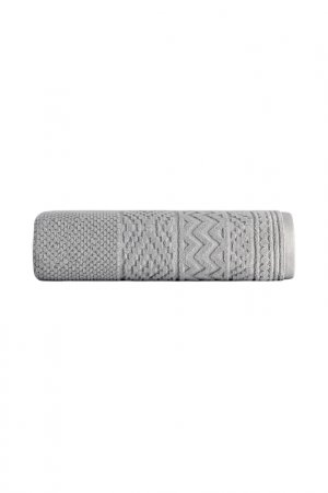 Полотенце Жаккард 70X140 Cedro Arya home collection. Цвет: серый